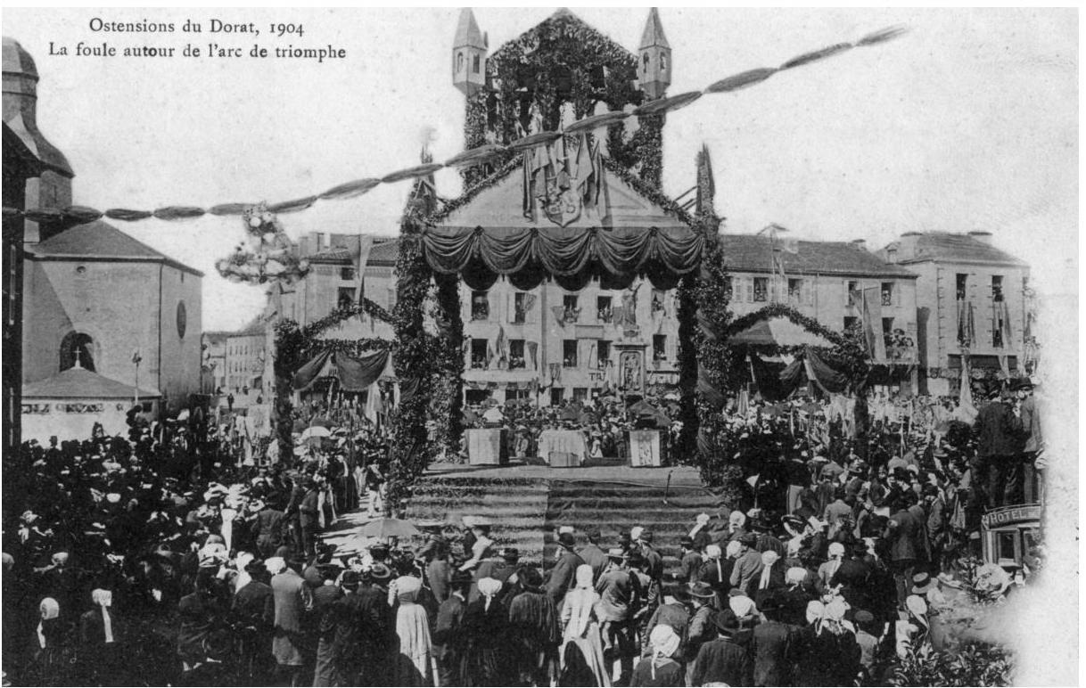Arc de Triomphe en 1904